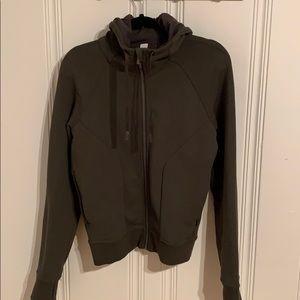 Lululemon full zip hoody size 8